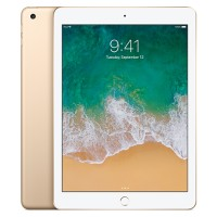 Apple iPad Wi-Fi 128GB with Engraving - Gold MPGW2LL/A