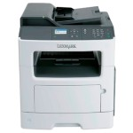 MX317dn - Multifunction printer - B/W - laser - Legal (8.5 in x 14 in) (original) - A4/Legal (media) - up to 35 ppm (copying) - up to 35 ppm (printing) - 300 sheets - 33.6 Kbps - USB 2.0, LAN