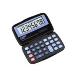 LS-555H - Pocket calculator - 8 digits - solar panel, battery