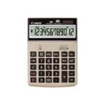 TS-1200TG - Desktop calculator - 12 digits - solar panel, battery - champagne gold