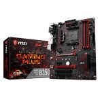 B350 GAMING PLUS - AMD Ryzen B350 - DDR4 - VR Ready - HDMI - USB 3.0 - ATX Gaming Motherboard
