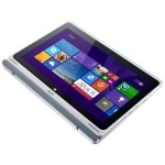 "Aspire Switch 11 SW5-111-18DY - Tablet - with keyboard dock - Atom Z3745 / 1.33 GHz - Win 8.1 SST 32-bit - 2 GB RAM - 64 GB eMMC - 11.6"" IPS touchscreen 1366 x 768 (HD) - HD Graphics - gray, black (Open Box Product, Limited Availability, No Back Orders)"