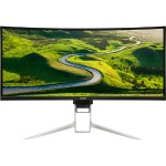 "XR382CQK - LED monitor - curved - 37.5"" - 3840 x 1600 - IPS - 300 cd/m² - 5 ms - HDMI, DisplayPort, HDMI (MHL) - speakers - Black"
