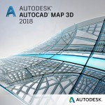 AutoCAD Map 3D 2018 Commercial New Multi-user ELD 3-Year Subscription with Advanced Support SPZD