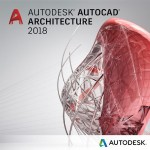 AutoCAD Architecture 2018 Commercial New Single-user ELD Quarterly Subscription with Advanced Support SPZD