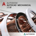 AutoCAD Mechanical 2018 Commercial New Single-user ELD Annual Subscription with Advanced Support SPZD