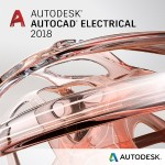 AutoCAD Electrical 2018 Commercial New Single-user ELD Quarterly Subscription with Advanced Support SPZD