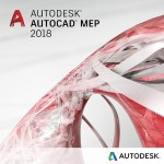 AutoCAD MEP 2018 Commercial New Single-user ELD 2-Year Subscription with Advanced Support SPZD