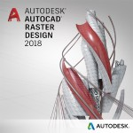 AutoCAD Raster Design 2018 Commercial New Single-user ELD Annual Subscription with Advanced Support SPZD