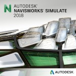 Navisworks Simulate 2018 Commercial New Single-user ELD 2-Year Subscription with Advanced Support SPZD