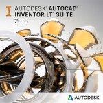 AutoCAD Inventor LT Suite 2018 Commercial New Single-user ELD 3-Year Subscription with Advanced Support