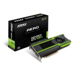 GTX 1080 Ti AERO 11G - Graphics Card - 11GB GDDR5X  - PCI Express x16 3.0 - 3x DisplayPort, HDMI