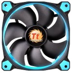 Riing 12 High Static Pressure LED Radiator Fan (3 Fans Pack) - Blue