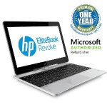 "EliteBook Revolve 810 G2 Intel Core i7-4600U Dual-Core 2.10GHz Tablet PC - 8GB RAM, 250GB SSD, 11.6"" LED HD Touchcreen, Gigabit Ethernet, 802.11a/b/g/n, Bluetooth, Webcam, 6-cell 44Wh Li-Polymer - Refurbished"