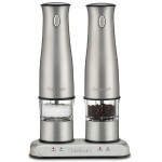 Stainless Rechargeable Salt & Pepper Mills - Refurbished