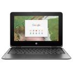 """Chromebook x360 11 G1 EE Intel Celeron N3350 Dual-Core 1.10GHz Notebook PC - 4GB RAM, 32GB eMMC, 11.6"""" HD UWVA, Touch Screen, 802.11a/b/g/n/ac, Bluetooth"""