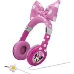 Minnie Mouse Bow-tastic Headphones - Pink