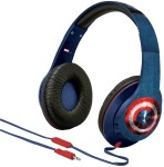 Captain America Over-the-Ear Headphones with Volume Control