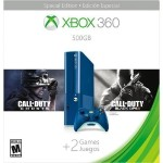 Xbox 360 500GB Call Of Duty Bundle - Blue