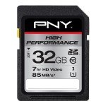 32GB High Performance SDHC Card High Performance SDHC Card - Black