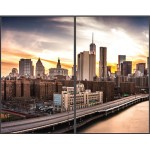 """65"""" UHD Video-Wall OLED Signage Display - 3840x2160, 450/140 cd/m2, 178x178 Viewing Angle, 1ms, Hard coating (2H), Anti-reflection, Portrait - Bundled with 2 End Panels for 1x2 Video Wall"""