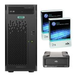Smart Buy ProLiant ML10 Gen9 Intel Core i3-6100 Dual-Core 3.70GHz Tower Server - 4GB RAM, no HDD, DVD-RW, Gigabit Ethernet plus RDX 2TB Removable Disk Cartridge and HP RDX+ External Docking Station