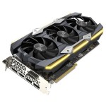 GeForce GTX 1080 Ti AMP Extreme Graphics Card - 1645 MHz - Boostable to 1759 MHz, 3584 CUDA Cores, Pascal Architecture, 11GB of GDDR5X VRAM, 11 Gbps Memory Speed, 352-Bit Memory Interface, DisplayPort 1.4, HDMI 2.0b, DVI-D DL