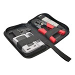 4-Piece Network Installer Tool Kit with Carrying Case