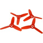 Replacement Propeller for Parrot Bebop (Red, 4-Pack)