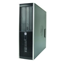 HP Inc. 6200 Pro Small Form Factor - Intel Core i5-2400 3.1GHz, 4GB RAM, 500GB HDD, DVDRW, Win 10 Pro 64 bit - Refurbished PC2-0837