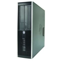 HP Inc. Elite 8200 Desktop PC - Small Form Factor, Intel Core i7-2600 3.4GHz Quad-Core Processor, 8GB DDR3 RAM, 500GB HDD, Integrated Graphics, Windows 10 Professional 64-bit - Refurbished PC2-0838