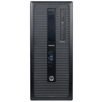 HP Inc. EliteDesk 800 G1 Desktop PC - Mid-Tower, Intel Core i7-4770 3.4GHz Quad-Core Processor, 16GB DDR3 RAM, 2TB HDD, Integrated Graphics, Windows 10 Professional 64-bit - Refurbished PC2-0843