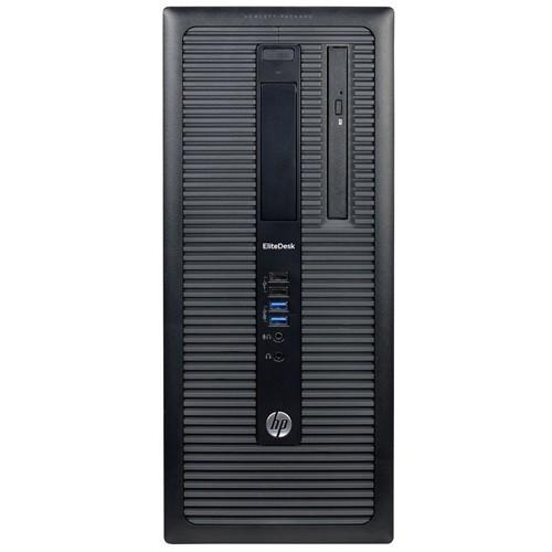 EliteDesk 800 G1 Desktop PC - Mid-Tower, Intel Core i7-4770 3.4GHz Quad-Core Processor, 16GB DDR3 RAM, 2TB HDD, Integrated Graphics, Windows 10 Professional 64-bit - Refurbished