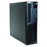 Lenovo ThinkCentre M91p Desktop PC - Small Form Factor, Intel Core i5-2400 3.1GHz Quad-Core Processor, 4GB DDR3, 250GB HDD, Integrated Graphics, Windows 10 Pro 64-bit - Refurbished PC3-0313