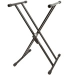 Double X-Frame Keyboard Stand