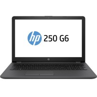 "HP Inc. 250 G6 - Core i5 7200U / 2.5 GHz - Win 10 Pro 64-bit - 8 GB RAM - 256 GB SSD SED - DVD-Writer - 15.6"" 1366 x 768 (HD) - HD Graphics 620 - Wi-Fi, Bluetooth - dark ash silver, woven texture - kbd: US 1NW57UT#ABA"