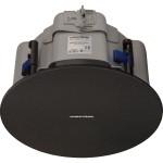 "Saros Low-Profile 6.5"" 2-Way In-Ceiling Speaker, Black Textured, Single (must be ordered in multiples of 2)"