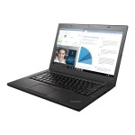 "ThinkPad T460 20FM - Ultrabook - Core i5 6300U / 2.4 GHz - Win 10 Pro 64-bit - 8 GB RAM - 240 GB SSD TCG Opal Encryption - 14"" IPS touchscreen 1920 x 1080 (Full HD) - HD Graphics 520 - Wi-Fi, Bluetooth"