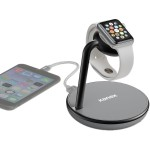 GoPower Watch Stand - Magnetic Charging Stand for Apple Watch and iPhone