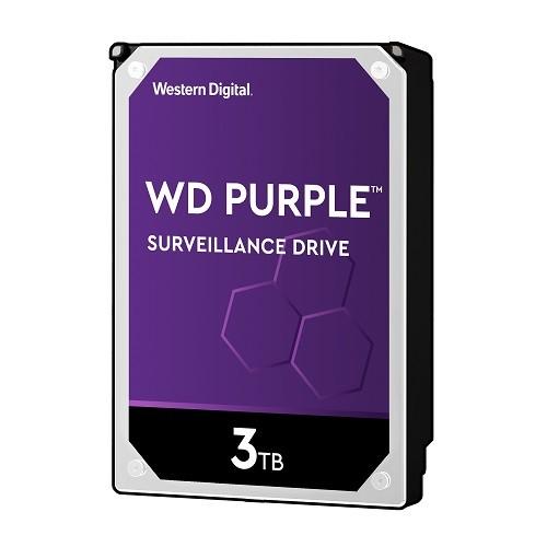 PCM   WD, 3TB SATA 6Gb/s 5400RPM Purple Surveillance Hard Drive, WD30PURZ