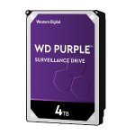 "4TB Surveillance Hard Disk Drive - 5400 RPM Class SATA 6 Gb/s 64MB Cache 3.5"" - Purple"