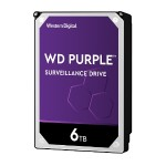 6TB SATA 6Gb/s 5400RPM Purple Surveillance Hard Drive