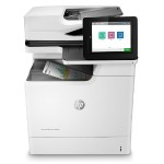 "LaserJet Enterprise M681dh Multifunction Color Printer - Print, Copy, Scan, Digital Send, Up to 50 ppm (Black and Color), 1200x1200 dpi, Automatic Duplex, Gigabit Ethernet, 8.0"" Touch Display"