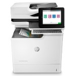 "LaserJet Enterprise M681f Multifunction Color Printer - Print, Copy, Scan, Fax, Digital Send, Up to 50 ppm (Black and Color), 1200x1200 dpi, Automatic Duplex, Gigabit Ethernet, 8.0"" Touch Display"