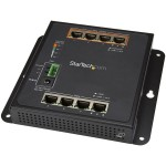 8-Port (4 PoE+) Gigabit Ethernet Switch - Managed - Wall Mount with Front Access