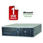 Elite DC7800 Intel Core 2 Duo Quad-Core 3.0Ghz Desktop PC - 4GB RAM, 320GB 7200RPM SATA, 10/100/1000 Ethernet, DVD-ROM - Refurbished