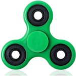 Fidget Spinner Toy Stress Reducer - Green