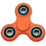 Fidget Spinner Toy Stress Reducer - Orange