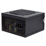 VP550F 550W 12cm Power Supply Unit EuP 80+ Certified Jap Caps Thermal Control -Black