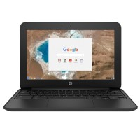 "HP Inc. Chromebook 11 G5 - Celeron N3060 / 1.6 GHz - Chrome OS - 4 GB RAM - 16 GB eMMC - 11.6"" touchscreen 1366 x 768 (HD) - HD Graphics 400 - Wi-Fi, Bluetooth (Open Box Product, Limited Availability, No Back Orders) X9U05UT#ABA-OB"